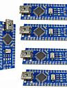 Nano v3.0 atmega328p îmbunătăți plăcile controler pentru arduino (5 buc)