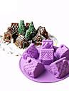 Materiale pentru torturi Urs pentru Candy Pâine Tort Gheață pentru pâine pentru ciocolată tort Cauciuc siliconat Silicon 100% mâncare