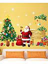 Crăciun Vacanță Perete Postituri 3D Acțibilduri de Perete Autocolante de Perete Decorative, Hârtie Pagina de decorare de perete Decal
