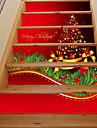 Botanisk Jul Landskap Väggklistermärken Väggstickers i 3D Dekrativa Väggstickers,Vinyl Hem-dekoration vägg~~POS=TRUNC For Vägg