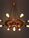 9-Light Industrial Lumini pandantiv Lumină Spot - Ajustabil, 110-120V / 220-240V Becul nu este inclus / 10-15㎡ / E26 / E27