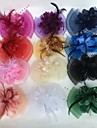Feather / Net Fascinators / Flowers with 1 Wedding / Party / Evening Headpiece