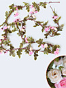 Konstgjorda blommor 1 Gren Pastoral Stil Roser Väggblomma