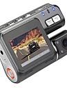 I1000 720p Bil DVR 90 grader 1.8inch LCD Dash Cam med Slinginspelning Nattseende Bilinspelare