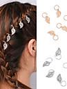 Pentru femei Modă Aliaj,Elastic Păr Argintiu Auriu