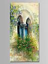 Pictat manual Floral/Botanic Vertical, Modern pânză Hang-pictate pictură în ulei Pagina de decorare Un Panou
