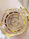 Pentru femei Ceas de Mână Japoneză Oțel inoxidabil Bandă Argint / Auriu