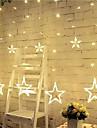 3m 12 etoiles lumieres noel halloween lumieres decoratives feux de bande festive avec des etoiles (220v)