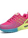 Pentru femei Pantofi Tul Primăvară / Toamnă Confortabili Adidași de Atletism Alergare Toc Drept Vârf rotund Gri / Mov / Fucsia