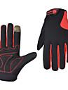 Gants sport Gants de velo, Gants de Cyclisme Gants du sport Garder au chaud Vestimentaire Respirable Anti-Chocs Anti-derapant Doigt