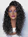 Obehandlad hår Spetsfront Peruk Brasilianskt hår Lockigt Med babyhår 130% 150% 180% Densitet obearbetade Afro-amerikansk peruk Korta
