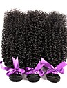 Cheveux Bresiliens Kinky Curly Tissages de cheveux humains Tissages de cheveux humains Femme Quotidien