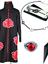 Inspired by Naruto Itachi Uchiha Anime Cosplay Costumes Cosplay Suits Cosplay Accessories Print Cloak More Accessories Weapon Necklaces