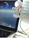YWXLIGHT® 1st Astronaut USB Lights Mini Kreativ nyhet LED ljus