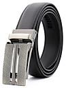 Men\'s Work / Casual Waist Belt - Plaid Pure Color