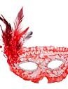 Classique Masque de mascarade Violet Jaune Rouge Rose Rouge Blanc Plastique Accessoires de cosplay Halloween Mascarade