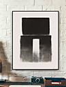 fantasi Oljemålning Väggkonst,Plast Material med ram For Hem-dekoration ramkonst Vardagsrum