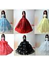 Prințesă Rochii Pentru Barbie Doll Pentru Fata lui păpușă de jucărie