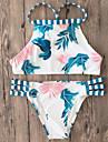 Pentru femei Bikini - Imprimeu, Multicolor Pantaloni