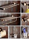 Set Accesorii Baie Modern Alamă 7pcs - Hotel baie Suport perie de toaletă Suport perie de dinți baie Perioada de valabilitate Farfurie De