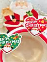 Vacanță Autocolante, etichete Tag-uri - 16 Crăciun neregulat Autocolante Toate Sezoanele