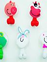 Krokar Tandborste Multifunktion Justerbar Lätt att använda Självhäftande Kan tas bort Gulligt Kreativ Tecknat Silikon Gummi pvc 1st -