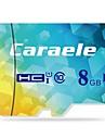 Caraele 8GB Micro SD-kort TF-kort minneskort class10 CA-1