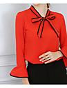 bluza din poliester din bluze - solidă