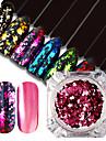 1 Nail Glitter Poudre de paillettes Paillettes Luxe Glitter & Sparkle Conseils d\'art des ongles