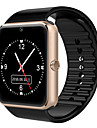Erkek Kadın\'s Spor Saat Moda Saat Dijital saat Dijital Deri Siyah / Kırmızı Bluetooth Takvim Parlak Dijital Günlük Moda - Siyah Gümüş Kırmzı