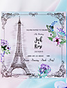 Flat Card Wedding Invitations 20-Pack 50-Pack - Invitations Sets Artistic Style Pearl Paper