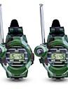 Walkie-talkie Utomhusträning Camping / Vandring / Grottkrypning Multifunktion Armbandsur Kompass Plast Plastskal 2 st