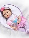 NPKCOLLECTION NPK DOLL בובה מחדש תינוק 22 אִינְטשׁ סיליקון - יָלוּד כְּמוֹ בַּחַיִים Cute בטוח לשימוש ילדים עיצוב חדש Non Toxic הילד של יוניסקס / בנות צעצועים מתנות