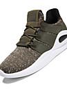 Bărbați Pantofi Croșet Primăvară / Vară Confortabili Adidași Negru / Gri / Verde