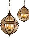 Ecolight™ Подвесные лампы Рассеянное освещение Деревенский стиль, 110-120Вольт 220-240Вольт Лампочки не включены