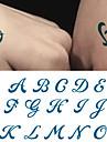 10 pcs Временные тату Временные татуировки Тату с цветами Искусство тела рука