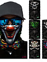 Pollution Protection Mask Grey Dark Gray Rainbow Quick Dry Ultraviolet Resistant Limits Bacteria Road Cycling Hiking Cycling / Bike Unisex Cool Skulls Polyester / High Elasticity / Mountain Bike MTB