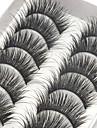 Silmäripsi Tekoripset 20 pcs Ammattilais Suurennettu Kihara Kuitu Päivittäin Luonnollisen pitkät - Meikki Arkipäivän meikki Ammattilainen Korkealaatuinen kosmeettinen Hoitotarvikkeet