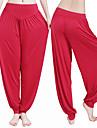 Femme Sarouel Pantalon de yoga - Rouge fonce, Vert clair, Bleu royal Des sports Modal Pantalons / Culotte Bouffante Tenues de Sport