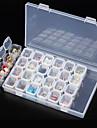 Yapay Nail İpuçları Nail Art Aracı Nail Art Takımı Modaya Uygun Takı tırnak sanatı Manikür pedikür Profesyonel Günlük Giyim / Nail Jewelry