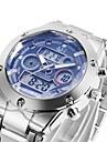 ASJ Ανδρικά Αθλητικό Ρολόι Ψηφιακό ρολόι Ιαπωνικά Μαύρο / Λευκή 30 m Ανθεκτικό στο Νερό Συναγερμός Ημερολόγιο Αναλογικό-Ψηφιακό Πολυτέλεια - Λευκό Μαύρο Μπλε Ενας χρόνος Διάρκεια Ζωής Μπαταρίας