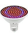 1 buc 30W 1600lm E26 / E27 Culoarea becului crescând 200 LED-uri de margele SMD 5730 Decorativ Albastru Roșu 85-265V