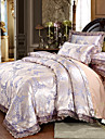 Bettbezug-Sets Luxus Polyester Bedruckt & Jacquard 4 StueckBedding Sets / 300 / 4-teilig (1 Bettbezug, 1 Bettlaken, 2 Kissenbezuege)