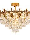 QIHengZhaoMing 9-Light Cristal Candelabre Lumini Ambientale 110-120V / 220-240V, Alb Cald, Bec Inclus / 15-20㎡