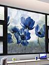 Okenní film a samolepky Dekorace Matte / Moderní Květiny PVC Nálepka na okna / Mat