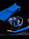 Dykning Pakker - Dykning Maske Dykkerfinner snorkel - Dry top Justérbar strop Anti-Fog Svømning Snorkling Gummi PC  Til Børn