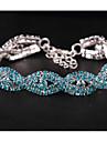 Pentru femei În Straturi Bratari Wrap - Dulce, Elegant Brățări Bijuterii Alb / Albastru / Roz Pentru Nuntă Dată