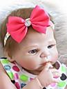 NPKCOLLECTION MUNECA NPK Munecas reborn Muneca chica Bebes Ninas 24 pulgada Cuerpo completo de silicona Vinilo - natural Regalo Implantacion artificial Ojos azules Kid de Chica Juguet Regalo