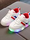 Αγορίστικα / Κοριτσίστικα Παπούτσια PU Άνοιξη & Χειμώνας / Ανοιξη καλοκαίρι Ανατομικό / Φωτιζόμενα παπούτσια Αθλητικά Παπούτσια Κορδόνια / Ταινία Δεσίματος / LED για Παιδιά / Ριγέ
