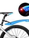 Guardabarros Bicicleta de Pista / Bicicleta de Montana Doblez / Soltado Rapido / Seguridad Plasticos - 2 pcs Rojo / Verde / Azul